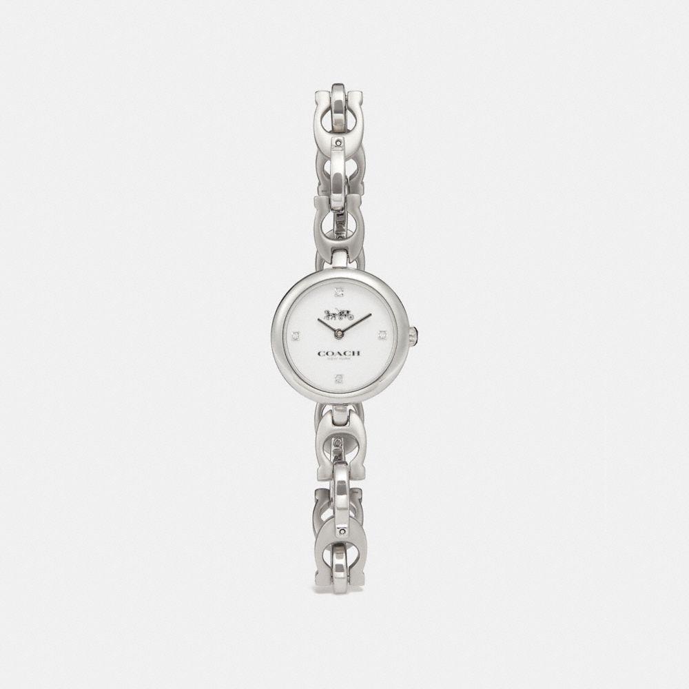 Coach Signature Chain Watch, 26mm