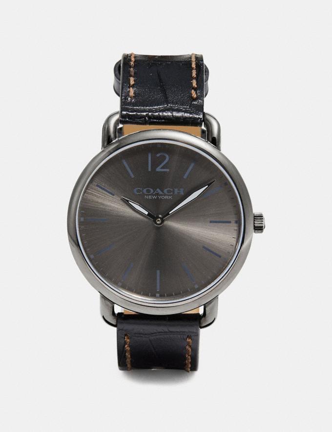 Coach Delancey Slim Watch, 40mm Black Men Accessories Watches