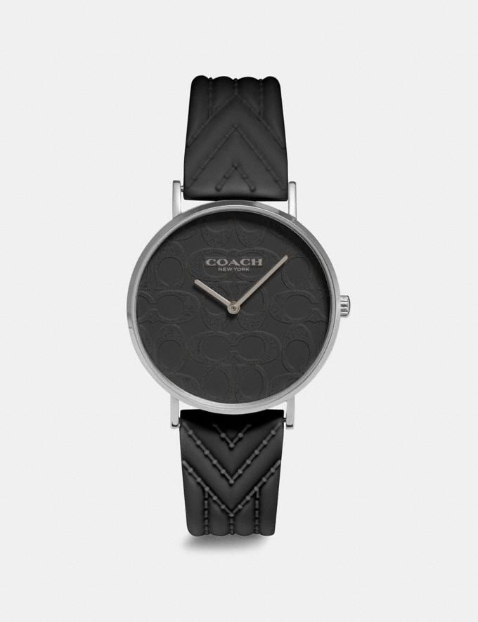 Coach Reloj Perry De 36 Mm Negro Regalo Para ella