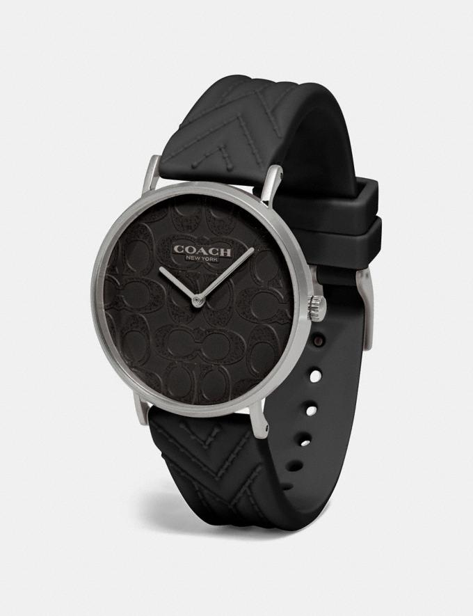 Coach Reloj Perry De 36 Mm Negro Regalo Para ella Vistas alternativas 1