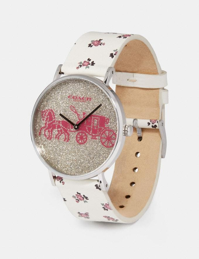 Coach Perry Watch, 36mm Chalk New Women's New Arrivals Accessories Alternate View 1