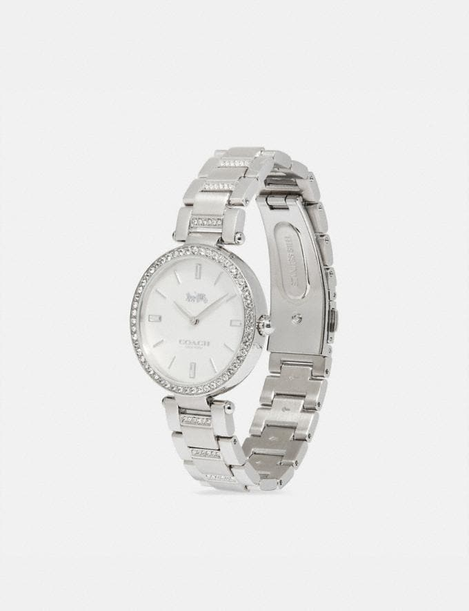 Coach Park Watch, 34mm Stainless Steel Women Edits Work Alternate View 1
