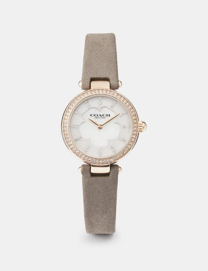 Coach Park Watch, 26mm Grey New Women's New Arrivals Accessories