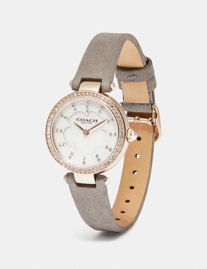Coach Park Watch, 26mm Grey New Women's New Arrivals Accessories Alternate View 1