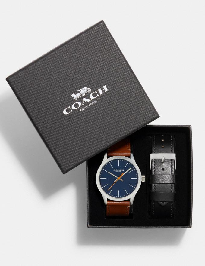 Coach Baxter Watch Gift Set, 39mm Multi