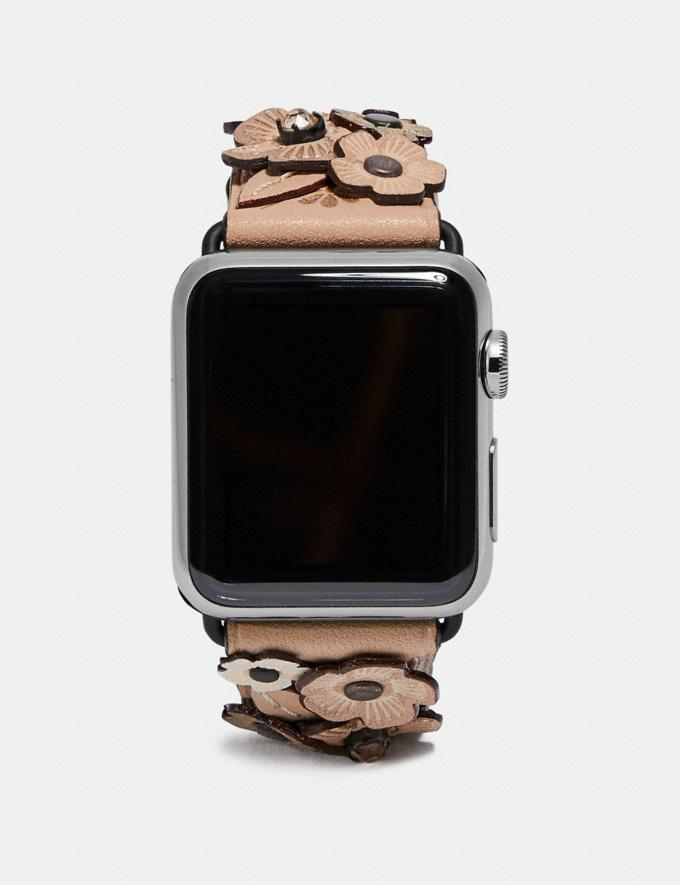 Coach Apple Watch® Strap With Crystal Tea Rose Pink Women Accessories