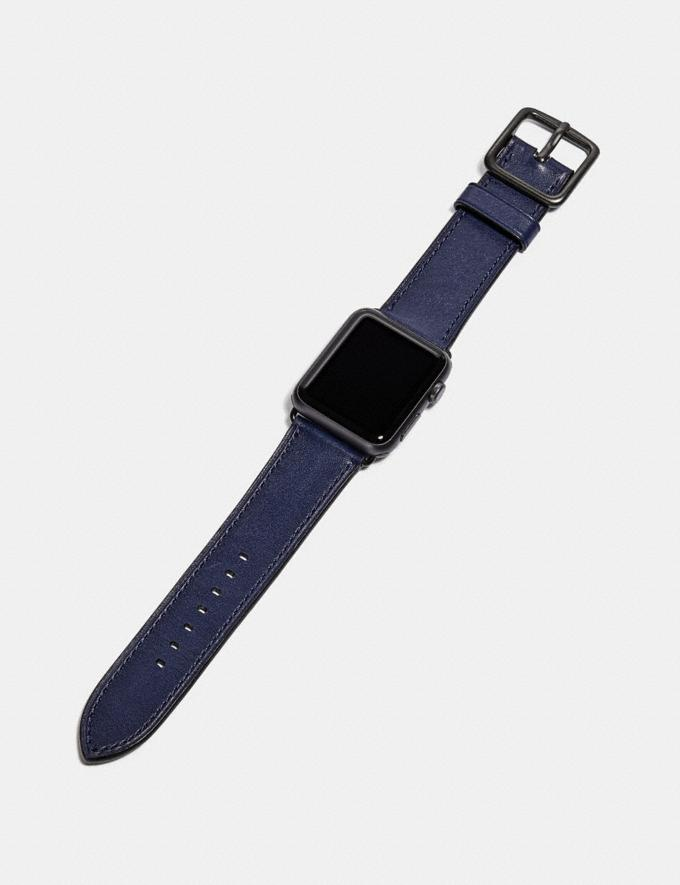 Coach Apple Watch® Strap Cadet Men Edits Work Alternate View 1