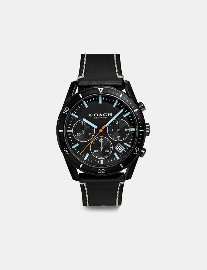 Coach Thompson Sport Watch, 41mm Black New Men's New Arrivals