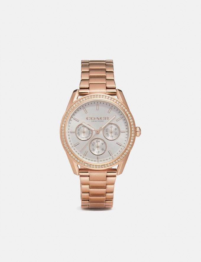 Coach Preston Sport Watch, 36mm Rose Gold Women Accessories Watches