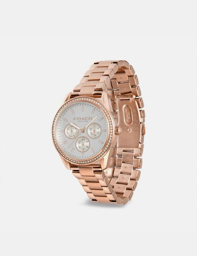 Coach Preston Sportuhr, 36 Mm Rosegold Damen Accessoires Uhren Alternative Ansicht 1