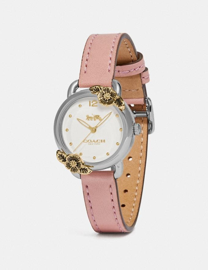 Coach Delancey Watch, 28mm Nude Pink Women Accessories Alternate View 1