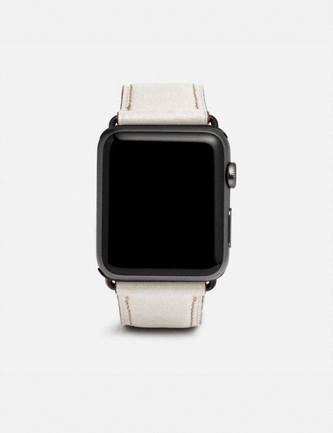 Coach Apple Watch® Strap Black Gifts For Him
