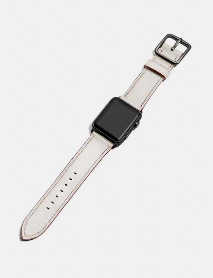 Coach Apple Watch® Strap Black Gifts For Him Alternate View 1