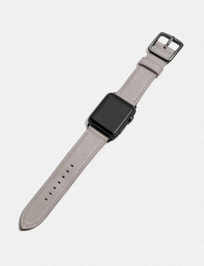 Coach Apple Watch® Strap, 42mm Dove Grey Women Accessories Watches Alternate View 1