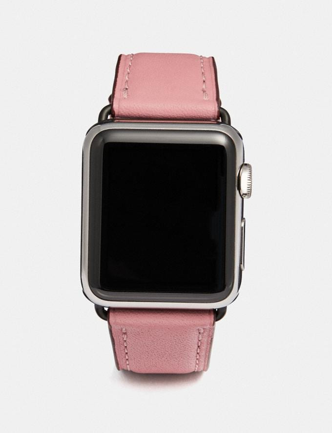 Coach Apple Watch® Strap Lt Blush Women Accessories