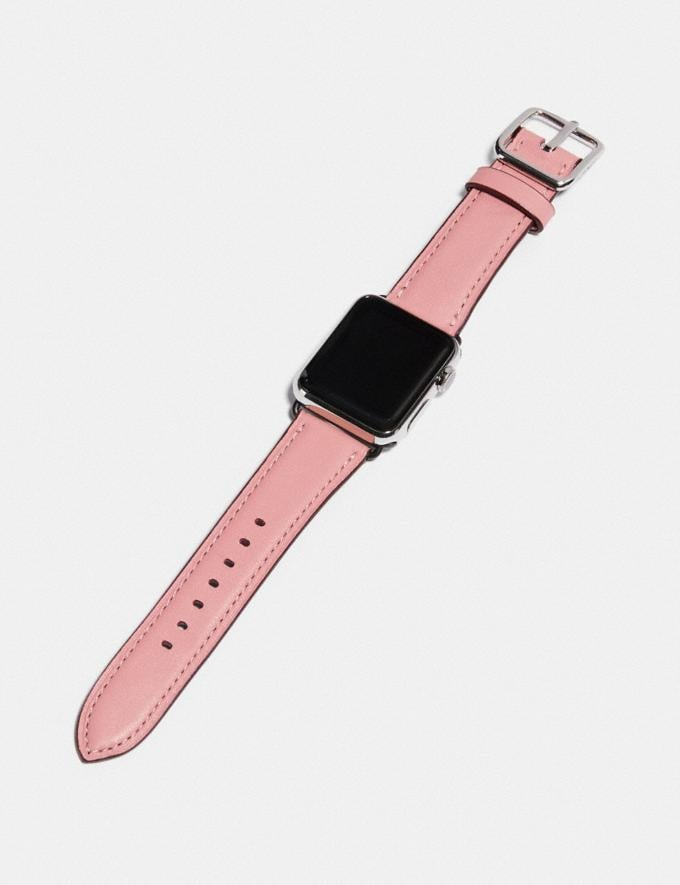 Coach Apple Watch® Strap Light Blush New Women's New Arrivals Accessories Alternate View 1