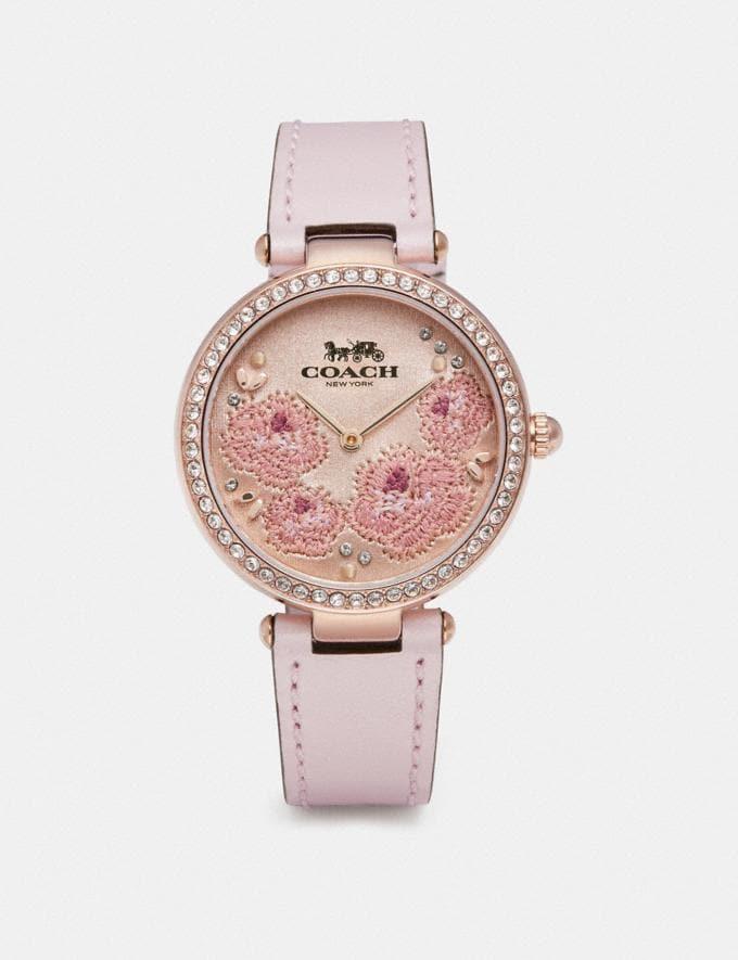 Coach Park Watch, 34mm Ice Pink Women Accessories Watches