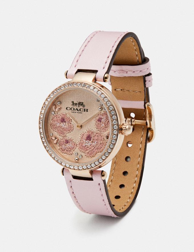 Coach Park Watch, 34mm Ice Pink Women Accessories Watches Alternate View 1