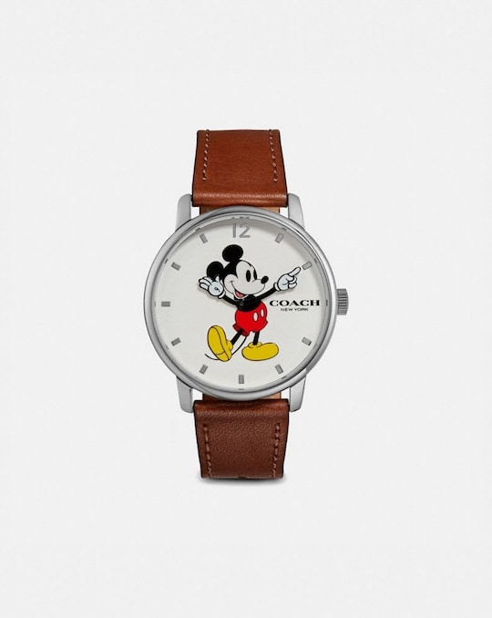 DISNEY X COACH MICKEY MOUSE GRAND UHR, 40MM