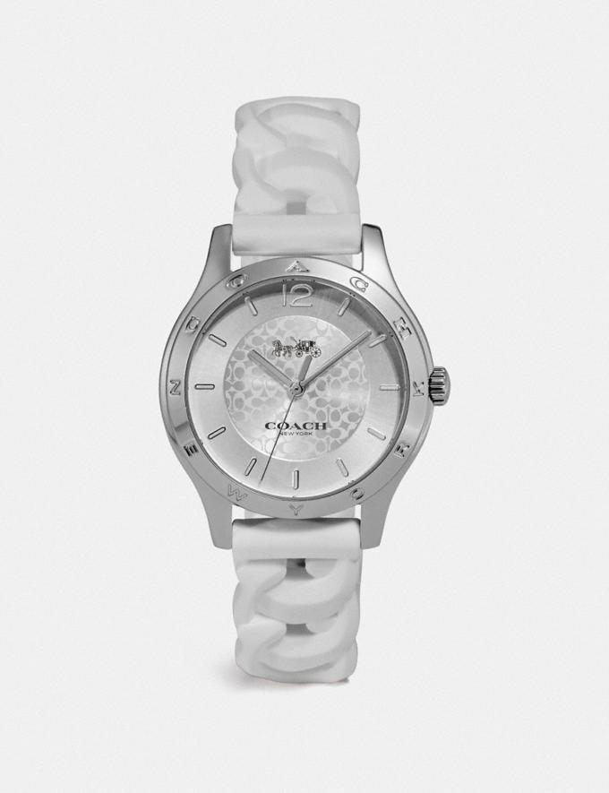 Coach Maddy Watch, 34mm White