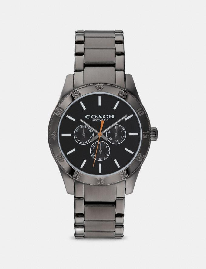 Coach Casey Watch, 42mm Grey/Ip