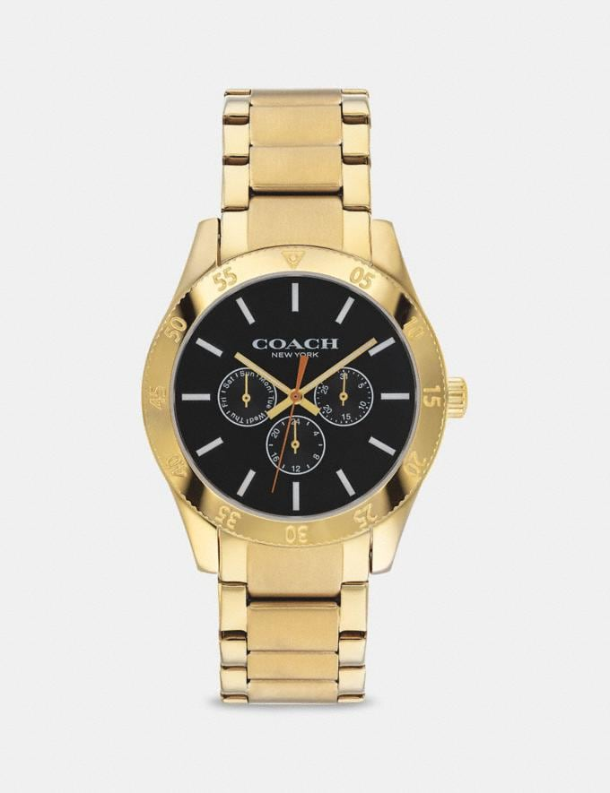 Coach Casey Watch, 42mm Gold