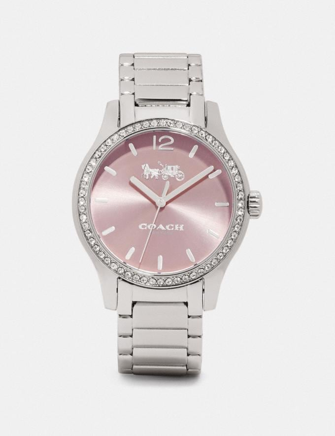 Coach Maddy Watch, 37mm Stainless Steel