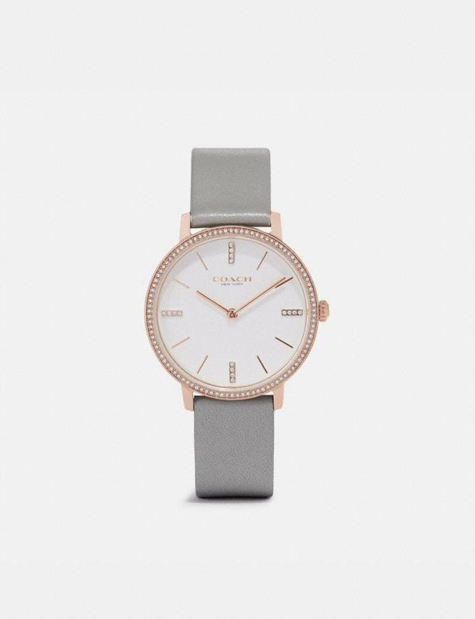 Coach Audrey Watch, 35mm Light Grey Women Accessories Watches