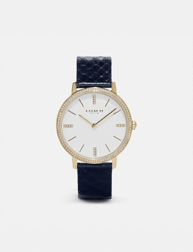 Coach Audrey Watch, 35mm Navy SALE Women's Sale Jewellery and Watches