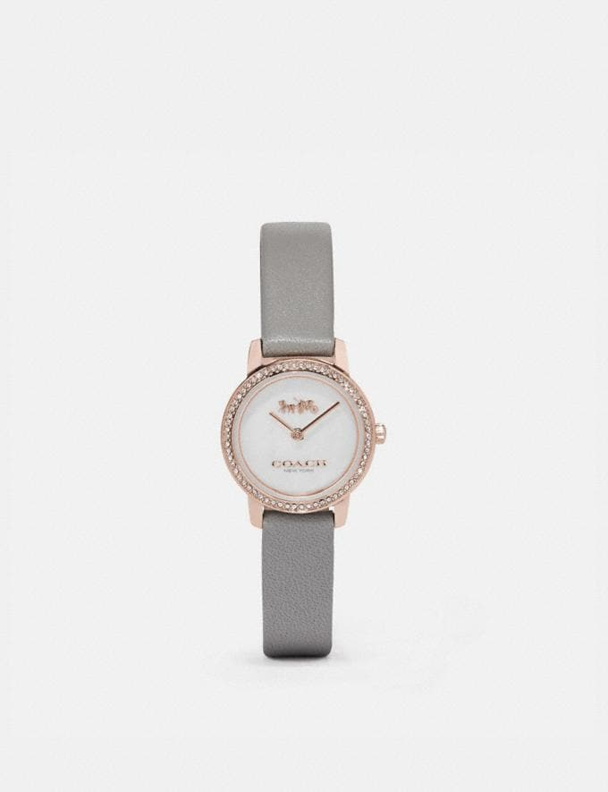 Coach Audrey Watch, 22mm Light Grey