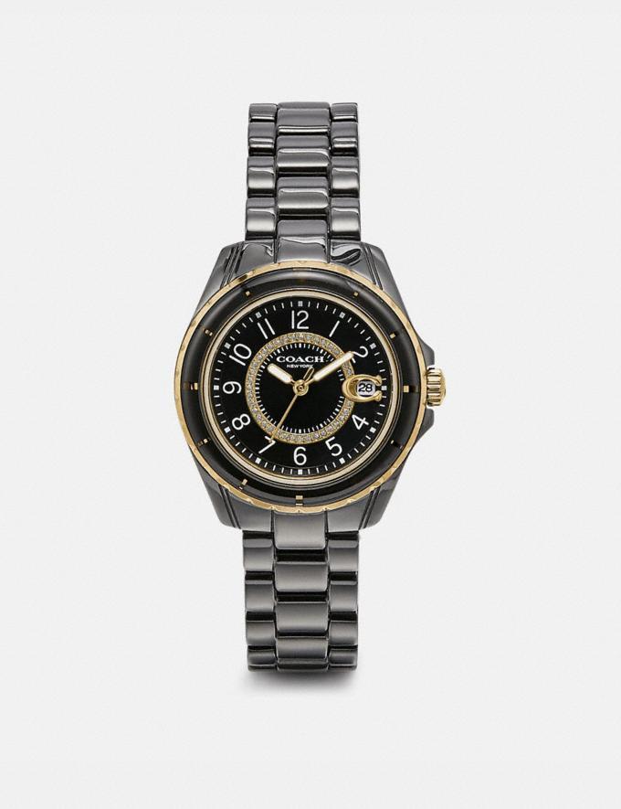 Coach Preston Sport Watch, 32mm Black Women Accessories Watches