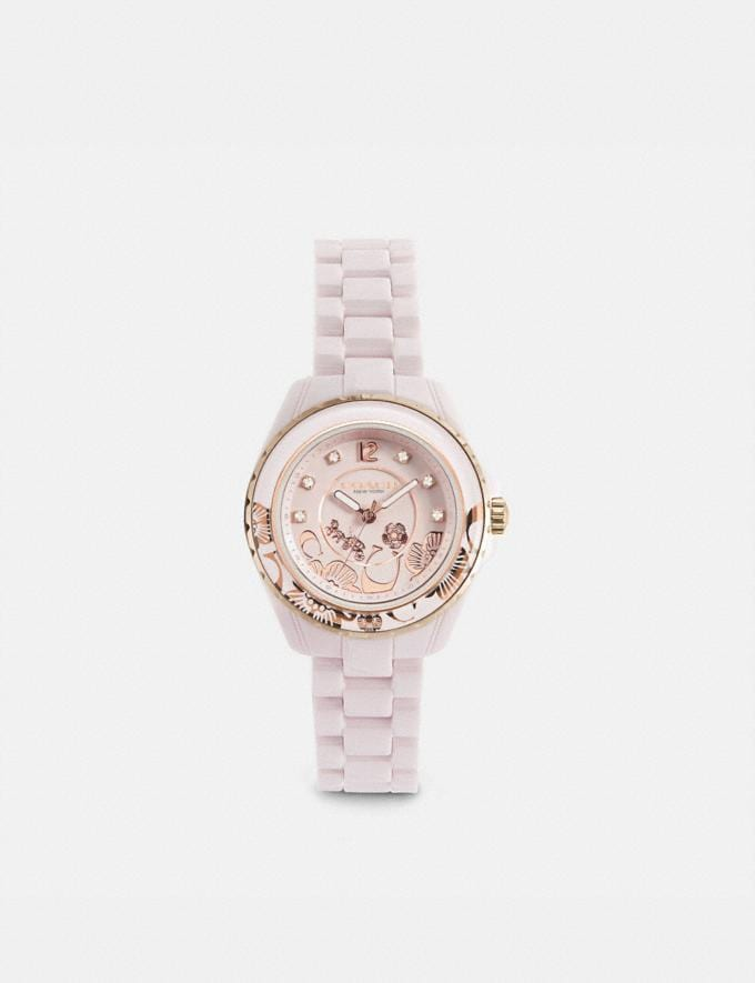 Coach Preston Sport Watch, 32mm Pink Gifts For Her Bestsellers