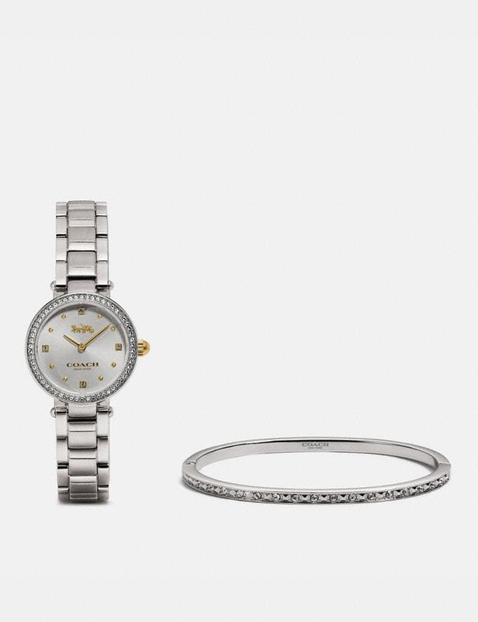 Coach Park Watch Gift Set, 26mm Two Tone New Women's New Arrivals Accessories