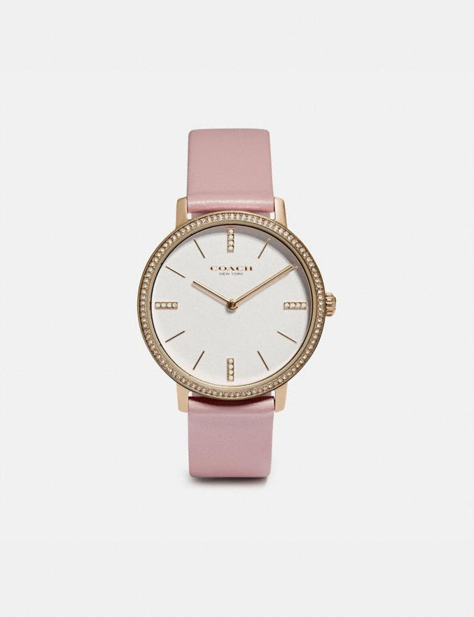 Coach Audrey Watch, 35mm Light Blush Women Accessories Jewelry & Watches