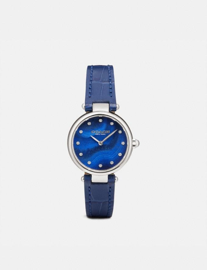 Coach Park Watch, 26mm Blue Women Accessories Watches