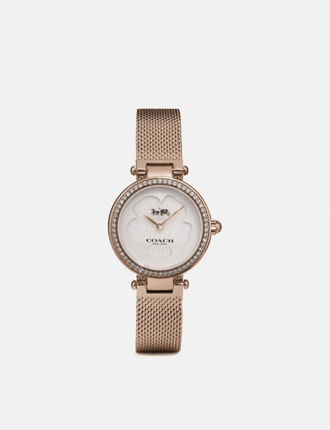 Coach Park Watch, 26mm Carnation Gold New Women's New Arrivals Accessories