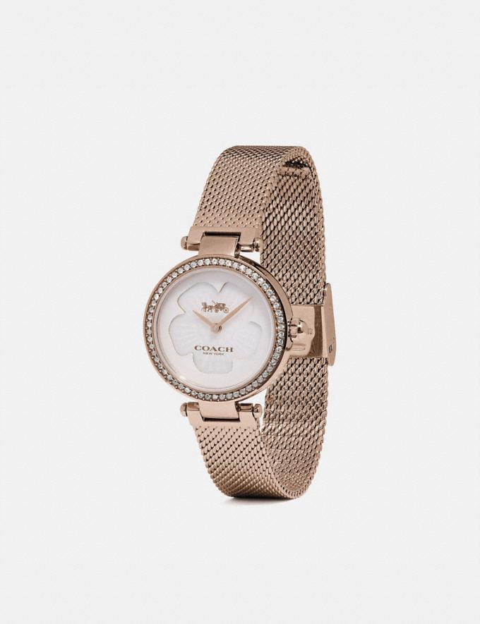 Coach Park Watch, 26mm Carnation Gold Women Accessories Jewelry & Watches Alternate View 1