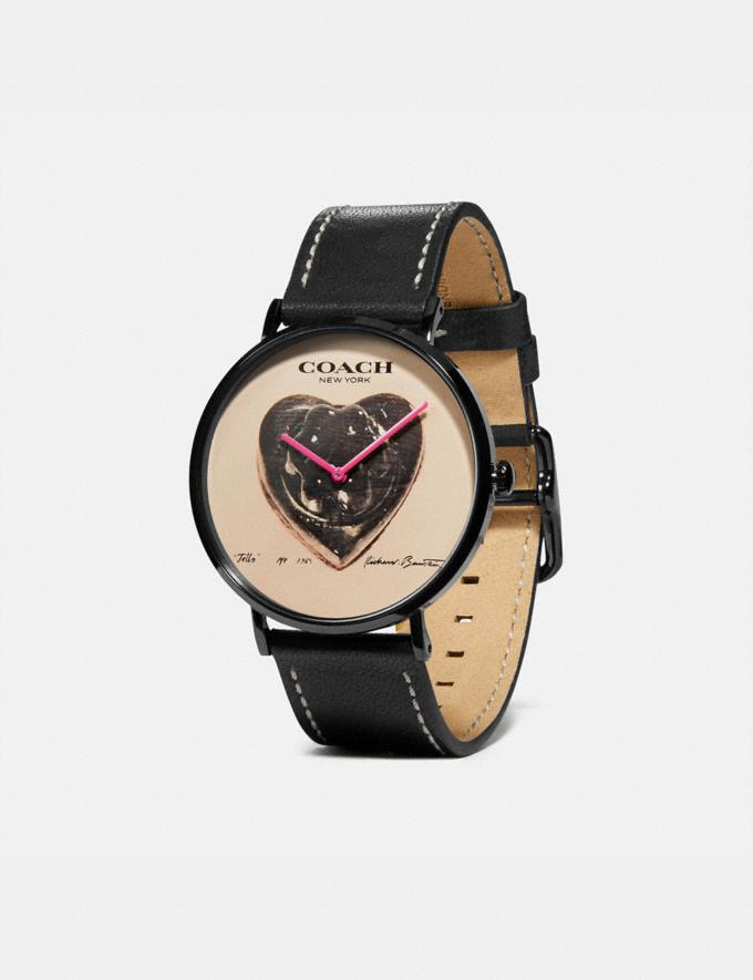 Coach Coach X Richard Bernstein Charles Watch, 41mm Black New Women's New Arrivals Alternate View 1