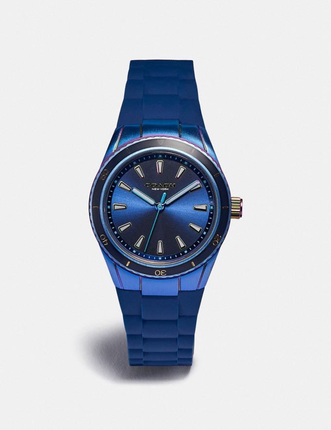 Coach Preston Sport Watch, 32mm Navy Women Accessories Watches