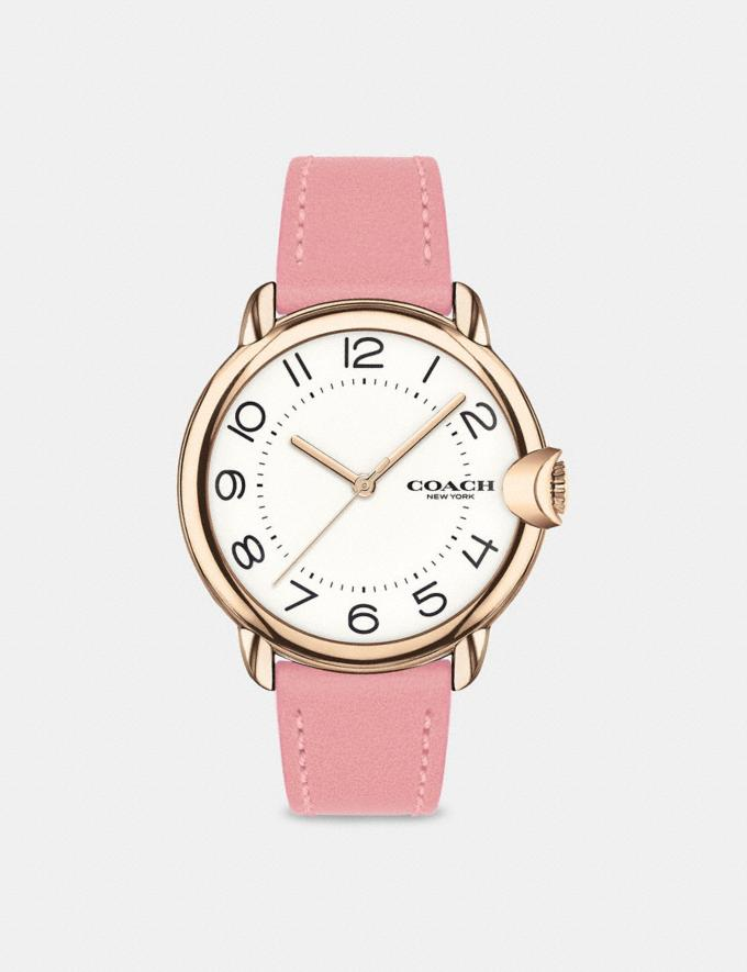 Coach Arden Watch, 36mm Pink Women Accessories Watches