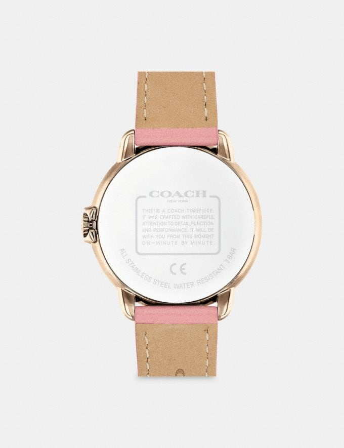 Coach Arden Watch, 36mm Pink Women Accessories Watches Alternate View 2