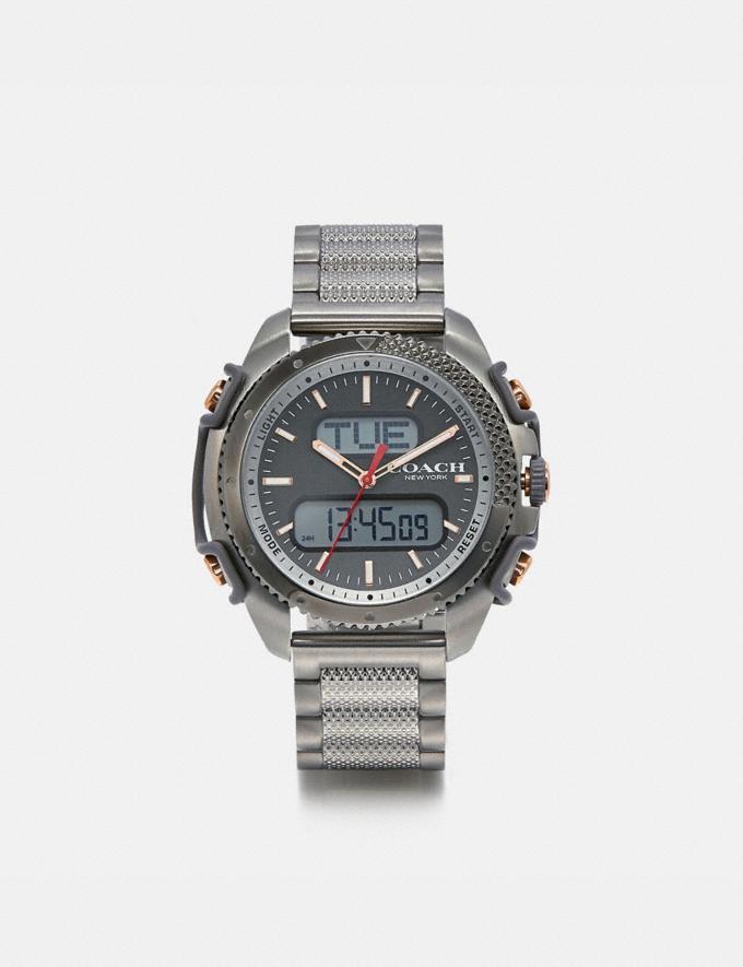 Coach C001 Watch, 46mm Stainless Steel Men Accessories Watches