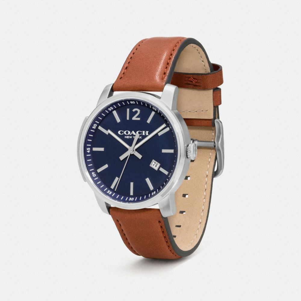 Bleecker Slim Stainless Steel Strap Watch - Autres affichages A1