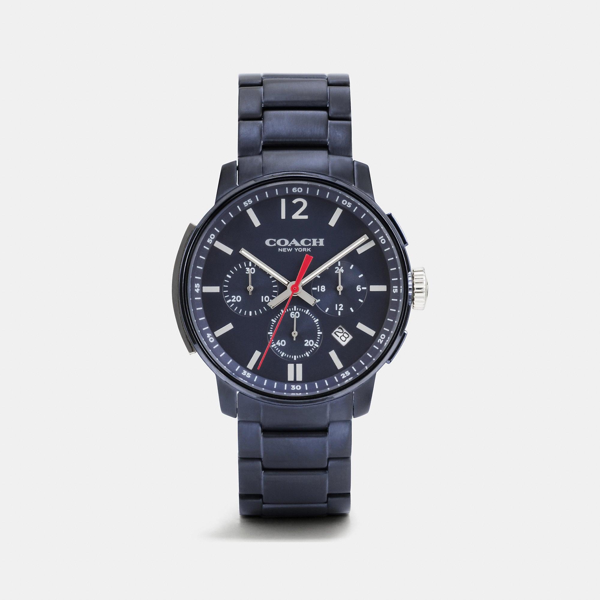 Coach Bleecker Slim Chrono Bracelet Watch