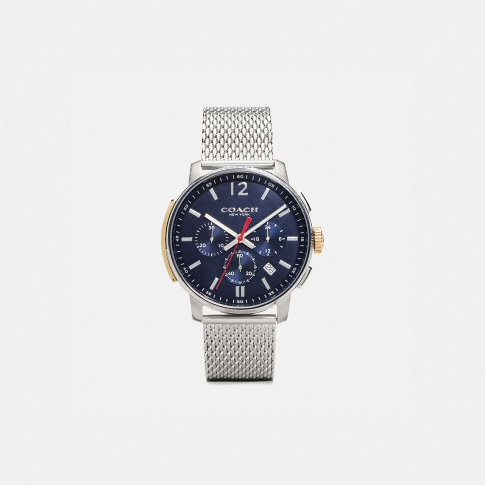 Bleecker Slim Stainlesss Steel Mesh Strap Watch