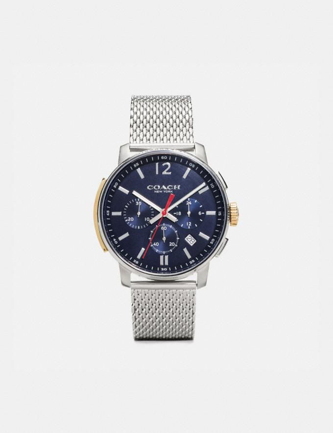 Coach Bleecker Slim Watch, 42mm Navy Men Edits Work