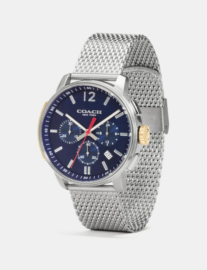 Coach Bleecker Slim Watch, 42mm Navy Gifts Holiday Shop Stocking Fillers For Him Alternate View 1