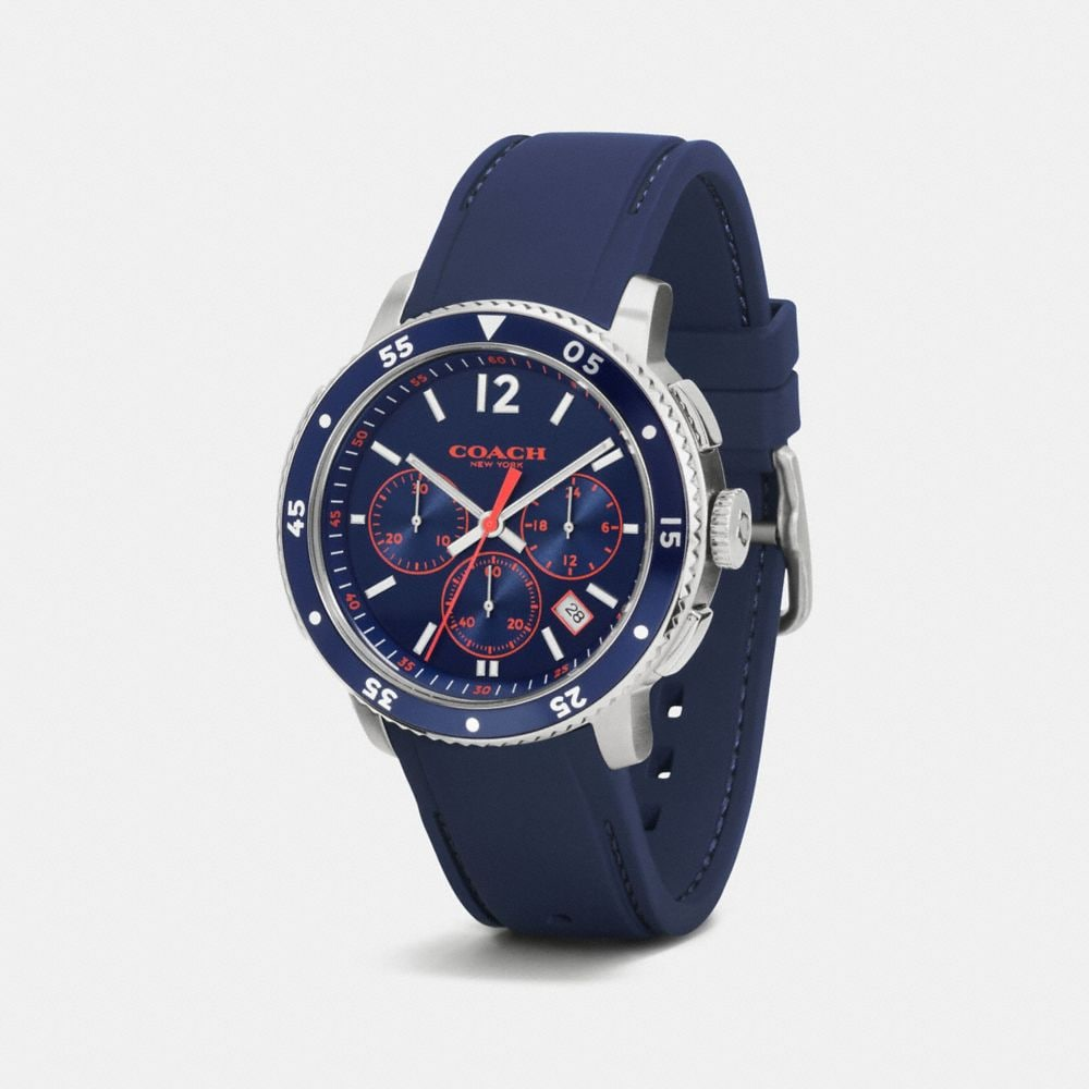 Coach Bleecker Sport Chrono Watch, 44mm Alternate View 1