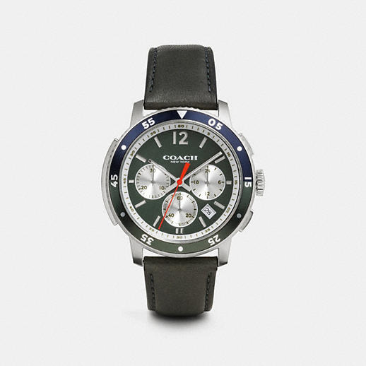 coach mens watches bleecker sport stainless steel chrono strap watch bleecker sport stainless steel chrono strap watch
