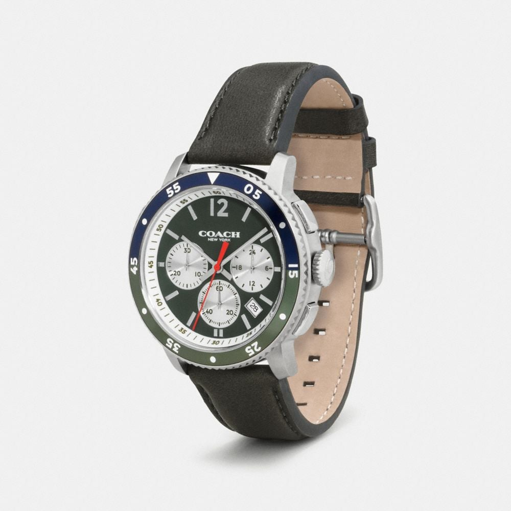 Coach Bleecker Sport Watch, 44mm Alternate View 1